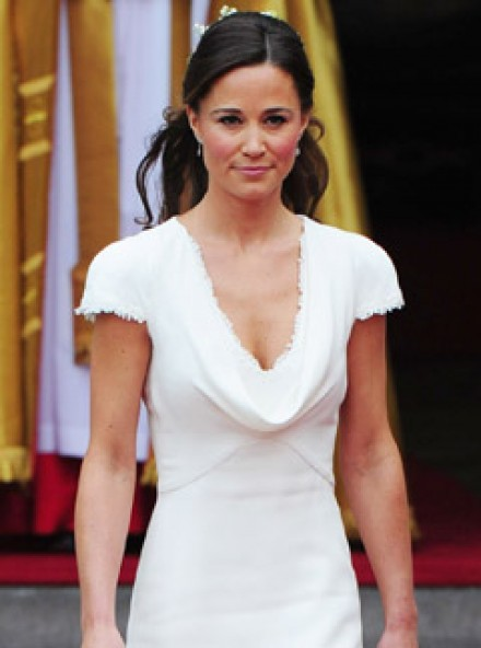Young Pippa Middleton