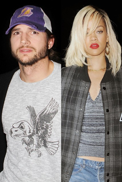 Rihanna And Ashton Kutcher Are Dating - Hollywood Love