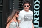 Lea Michele and Cory Monteith Only Have Eyes For Each Other On Lunch Date In LA