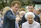 Prince Harry Shows The Queen Around The Chelsea Flower Show