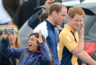Prince William & Prince Harry Cause Hysteria At The Polo