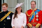 Kate Middleton Dresses Baby Bump In Alexander McQueen  For Trooping The Colour
