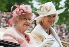 The Queen Is Pretty In Pink On Day One Of Royal Ascot