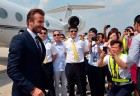 David Beckham Causes Hysteria In China