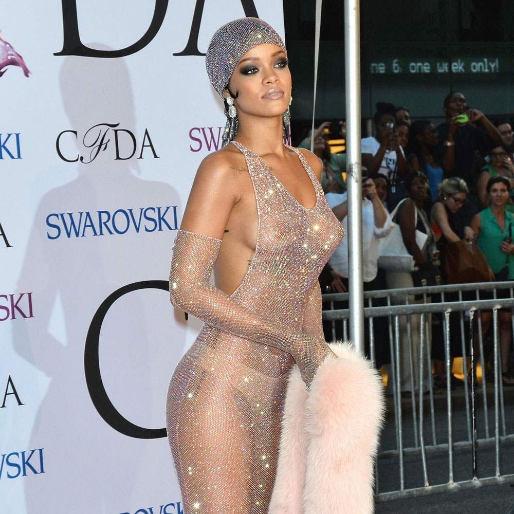 Remarkable, very cfda awards rihanna dress see through phrase simply