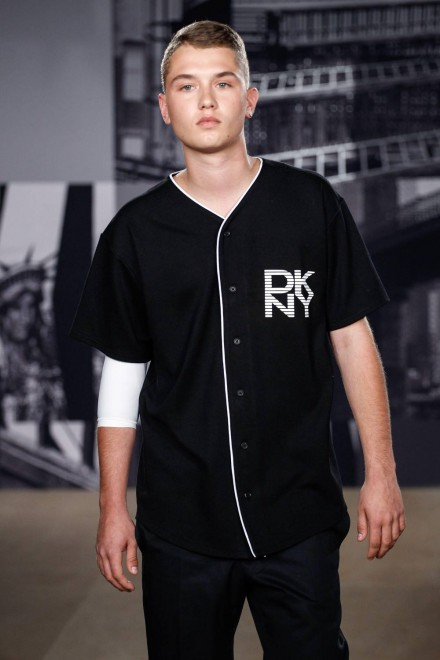Jude Law's Son Rafferty Models For DKNY At London ...
