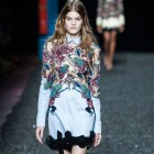 7 Beautiful Backstage Moments We Caught At Mary Katrantzou's SS15 Show