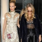 The Delevingne Duo Go Glam For A Very Fashionable Night Out
