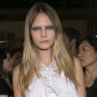 Cara Delevingne Goes Eyebrow Free For Givenchy