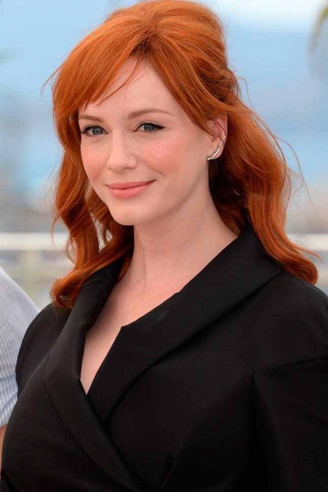 Beautiful Natural Redhead Blue