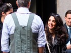 Amal Clooney And Husband George Whisper Like Loved-Up Teenagers In New York