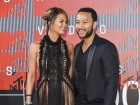 Chrissy Teigen just shared the cutest video of Baby Luna dancing to a John Legend song
