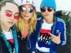 Alexa, Cara and Suki lead the best dressed stars at Glastonbury 2016