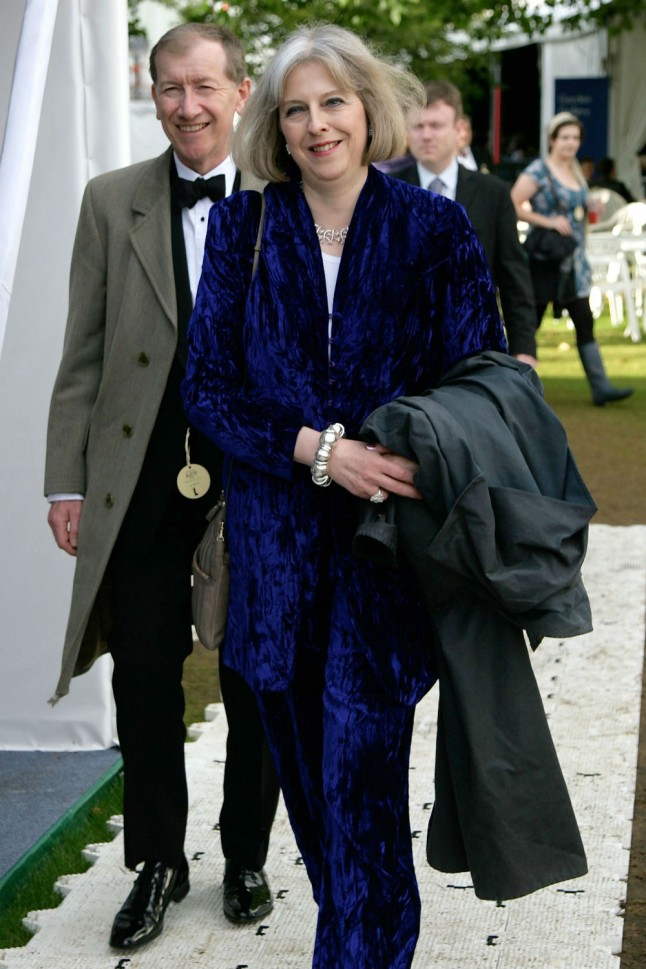 Theresa May S Husband Philip May The Style File Marie